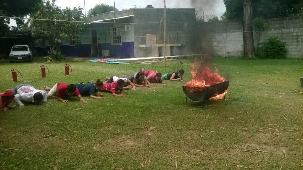 Curso Contra Incendios.